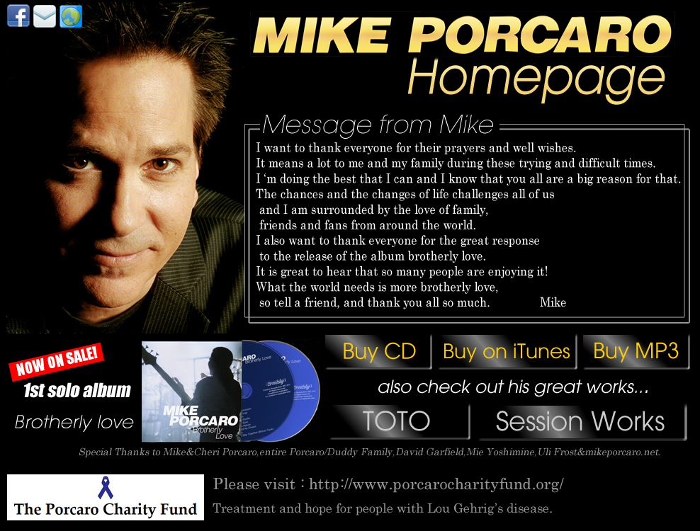 Mike Porcaro Homepage